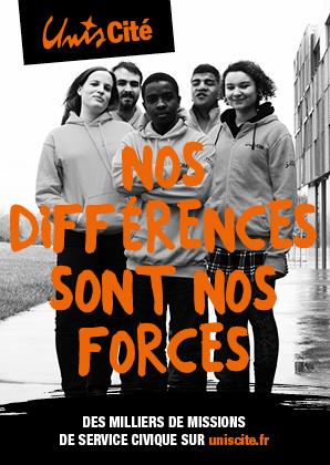 Flyer Nos différences sont nos forces