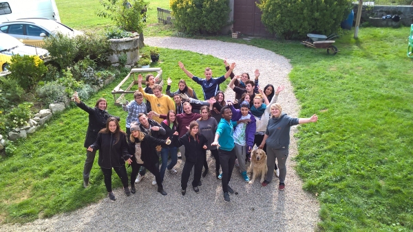 Promotion 2016-2017 des volontaires de Savoie