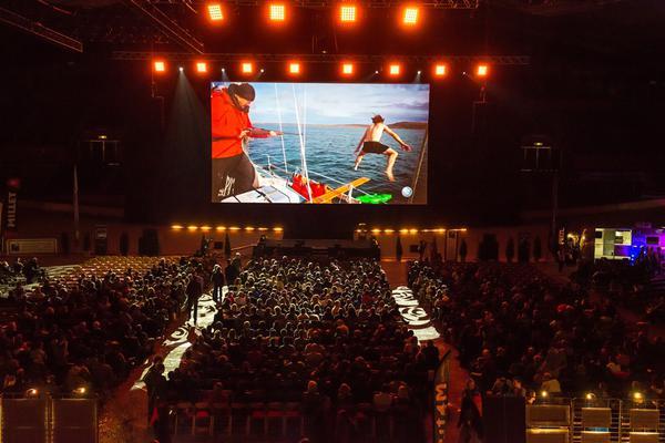 L'une des projections du festival au Palais des Sports de Grenoble
