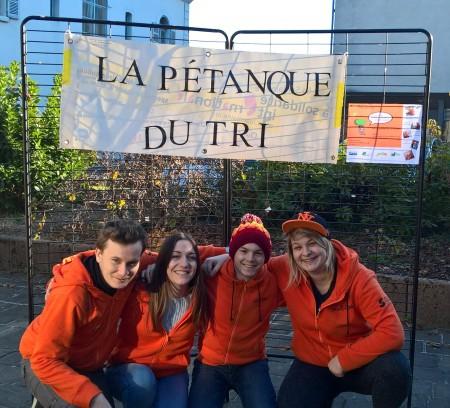 Amélie, Félix, Léa & Tanguy, une équipe orangée vitaminée !
