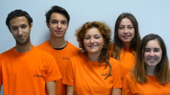 Les volontaires Intergénéreux engagés au sein de l'EHPAD Le Clos Saint-Joseph