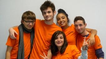 Les volontaires Intergénéreux engagés au sein de l'EHPAD Les Charmilles