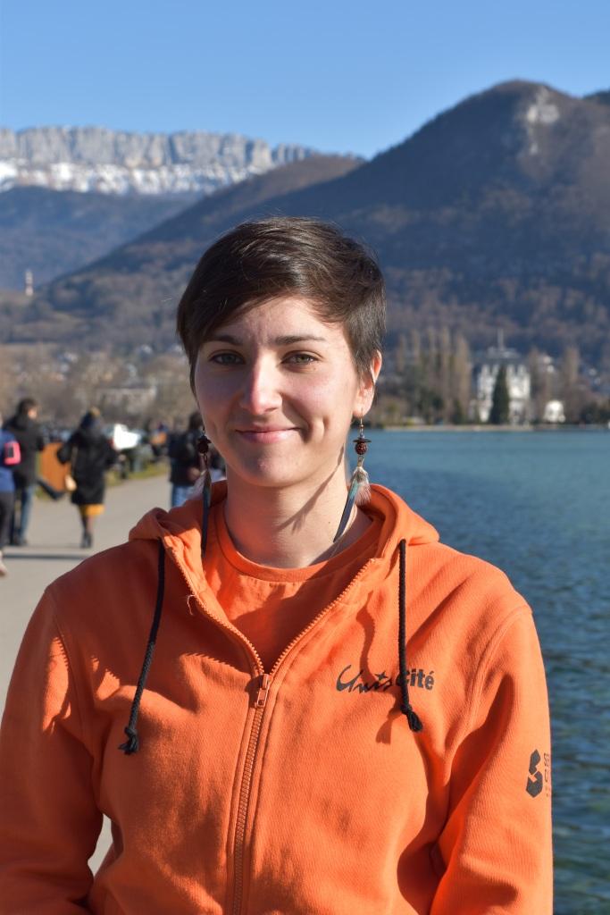Elise, volontaire Médiaterre